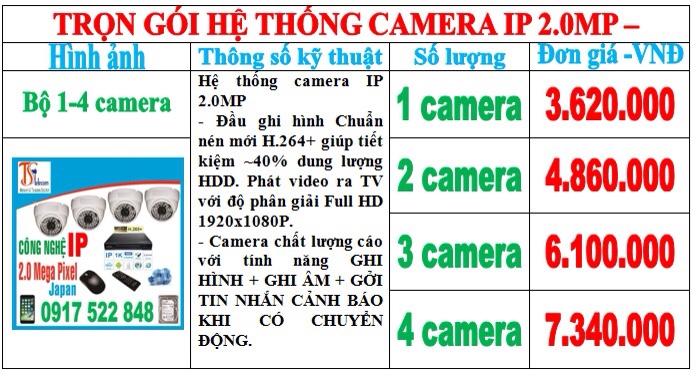 Trọn bộ camera quan sát giá rẻ chất lượng cao.