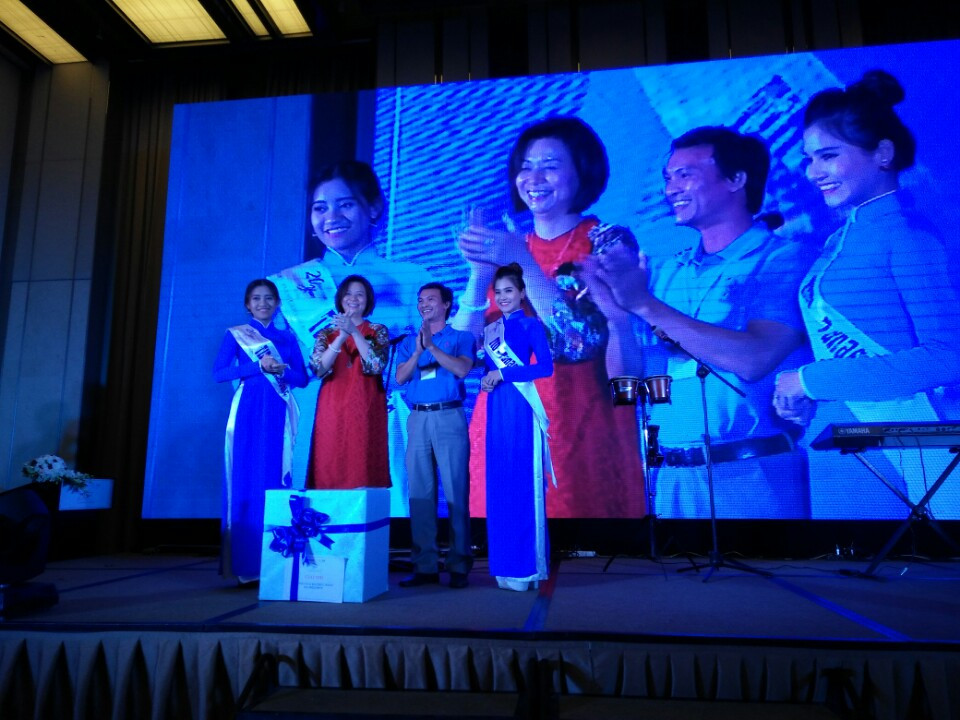 Tham dự sự kiện kỷ niệm 20 năm hợp tác, phát triển TID-Panasonic, đồng thời giới thiệu tổng đài IP KX-HTS824