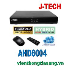 ĐẦU GHI HÌNH ANNALOG J-TECH AHD8004