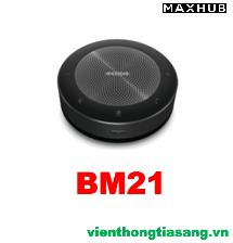 LOA HỘI NGHỊ KHÔNG DÂY BLUETOOTH MAXHUB BM21