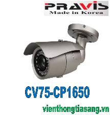 CAMERA PRAVIS ANALOG CV75-CP1650