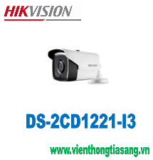 CAMERA IP THÂN HỒNG NGOẠI 2.0 MEGAPIXEL HIKVISION DS-2CD1221-I3