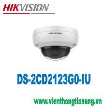 CAMERA IP DOME HỒNG NGOẠI 2.0 MEGAPIXEL HIKVISION DS-2CD2123G0-IU