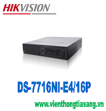 ĐẦU GHI HÌNH CAMERA IP 16 KÊNH HIKVISION DS-7716NI-E4/16P