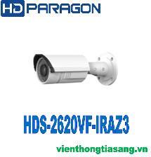 CAMERA IP HỒNG NGOẠI 2.0 MEGAPIXEL HDPARAGON HDS-2620VF-IRAZ3