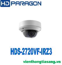 CAMERA IP DOME HỒNG NGOẠI 2.0 MEGAPIXEL HDPARAGON HDS-2720VF-IRZ3