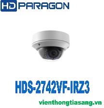 CAMERA IP DOME HỒNG NGOẠI 4.0 MEGAPIXEL HDPARAGON HDS-2742VF-IRZ3