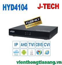 ĐẦU GHI HÌNH AHD/TVI/CVI/CBVS/IP J-TECH HYD4104