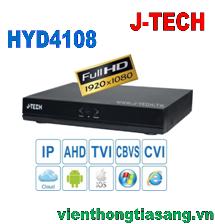 ĐẦU GHI HÌNH AHD/TVI/CVI/CBVS/IP J-TECH HYD4108