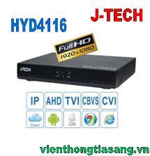 ĐẦU GHI HÌNH AHD/TVI/CVI/CBVS/IP J-TECH HYD4116