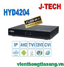 ĐẦU GHI HÌNH AHD/TVI/CVI/CBVS/IP J-TECH HYD4204