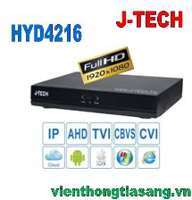 ĐẦU GHI HÌNH AHD/TVI/CVI/CBVS/IP J-TECH HYD4216
