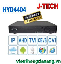 ĐẦU GHI HÌNH AHD/TVI/CVI/CBVS/IP J-TECH HYD4404