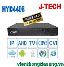 ĐẦU GHI HÌNH AHD/TVI/CVI/CBVS/IP J-TECH HYD4408