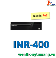 ĐẦU GHI HÌNH IP DÒNG NVR 4 KÊNH INR-400