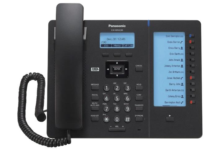 ĐIỆN THOẠI IP PANASONIC KX-HDV230
