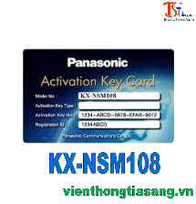 ACTIVATION KEY MỞ RỘNG 08 KÊNH TRUNG KẾ IP KX-NSM108
