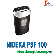 MÁY HỦY GIẤY NIDEKA PSF 100