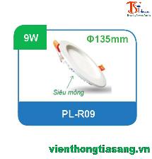 ĐÈN PANEL ÂM TRẦN TRÒN 9W PL-R09
