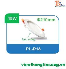 ĐÈN PANEL ÂM TRẦN TRÒN 18W PL-R18