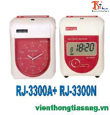 MÁY CHẤM CÔNG THẺ GIẤY RJ-3300A+ RJ-3300N
