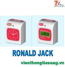 MÁY CHẤM CÔNG THẺ GIẤY RONALD JACK  RJ-2200A+ RJ-2200N