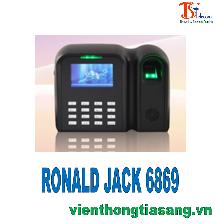 MÁY CHẤM CÔNG VÂN TAY RONALD JACK 6869