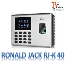 Máy Chấm Công Vân Tay RONALD JACK RJ-K 40