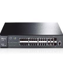 Bộ quản lý chia tín hiệu JetStream 24 cổng + 4 cổng Gigabit L2 TL-SL3428