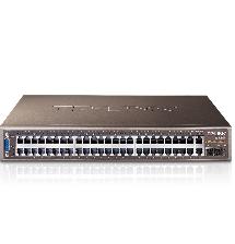 Bộ quản lý chia tín hiệu JetStream 48 port + 4 port Gigabit L2 TL-SL3452