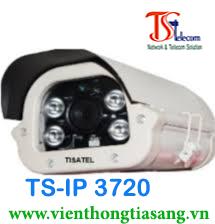 CAMERA IP THÂN HỒNG NGOẠI 2.0 MP TISATEL TS-IP 3720