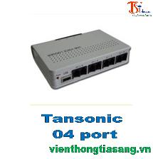 Card ghi âm tổng đài điện thoại Tansonic 4 port, USB