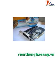 Card ghi âm tổng đài điện thoại  Tansonic 4 port, PCI