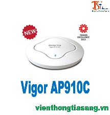 POE WIFI ACCESS POINT DRAYTEK VIGORAP910C