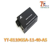 MEDIA CONVERTER 10/100/1000M YT-8110GSA-11-40-AS