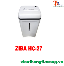 MÁY HỦY GIẤY ZIBA HC-27