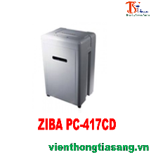 MÁY HỦY GIẤY ZIBA PC-417CD